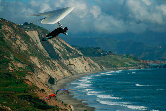 Hang Gliders at Fort Funston